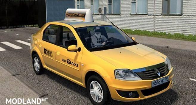 Renault Logan Taxi Mod [1.5.9]